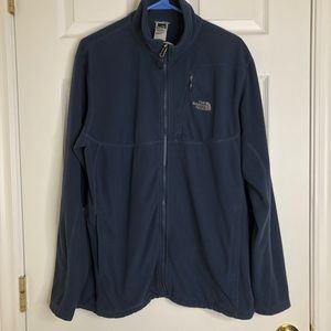 The North Face Blue Fleece Jacket Size Large
